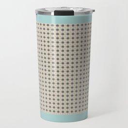 cuadrados 1 Travel Mug