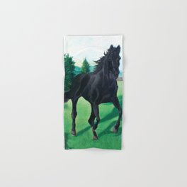 A Black Stallion Hand & Bath Towel