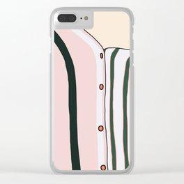 Unbutton Clear iPhone Case