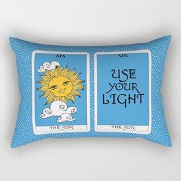 Tarot Cards: The Sun Rectangular Pillow