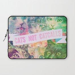 Cats Not Catcalls II Laptop Sleeve
