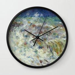Auguste Renoir - The Wave Wall Clock