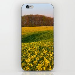 Blooming in yellow 8 iPhone Skin