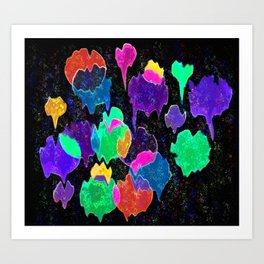 Nightballs Art Print