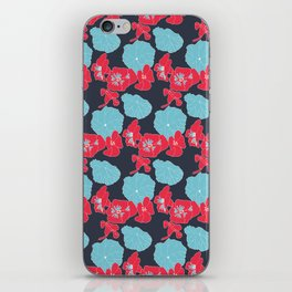 Lilly surface pattern design iPhone Skin