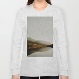 The Faded Forest on a River (Color) Long Sleeve T-shirt
