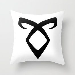 Angelic Power  Throw Pillow