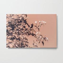 Chinoiserie Metal Print