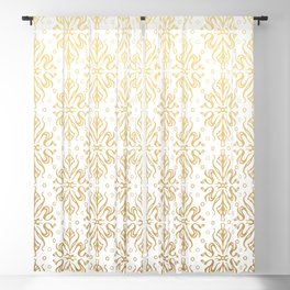 Luxury Vintage Pattern 22 Blackout Curtain