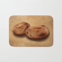 Still Life: Potatoes Bath Mat