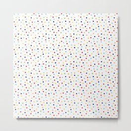 Colorful Dots Metal Print