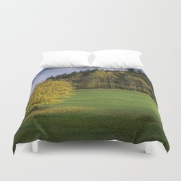 Autumn in Black Forest Duvet Cover