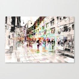 Vienna Rhapsody in Greys Canvas Print