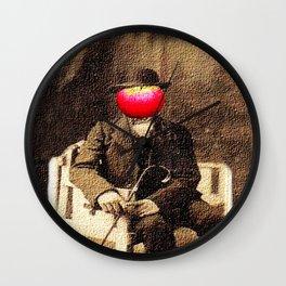 An apple a day Wall Clock