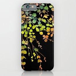 Eucalyptus in Autumn Color  iPhone Case