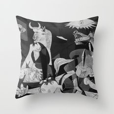 guernica Throw Pillow