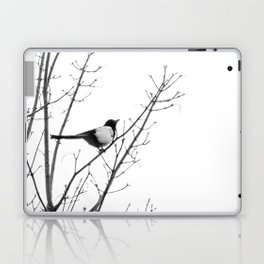 Magpie in the trees Laptop & iPad Skin