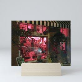 Pink Rhino Salon #UrbanArt #Photography #StreetScene Mini Art Print