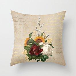Macro Flowers 51 Throw Pillow