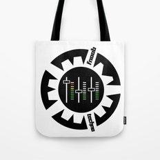 FNOOB Techno 3.0 logo Tote Bag