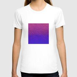 Deep Magenta Purple Ombre Watercolor T-shirt