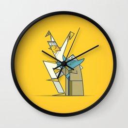 The Return of the Karate Kid Wall Clock