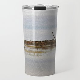 Dead Trees in the River Travel Mug