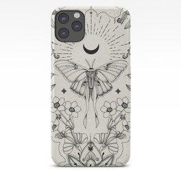Bohemian Luna Moth iPhone Case