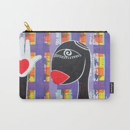 MAMMA AFRICA-CUORE IN MANO Carry-All Pouch