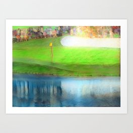 The Masters Golf - The Masters 16th Hole - Augusta National Art Print