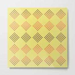 many squares. 1 Metal Print