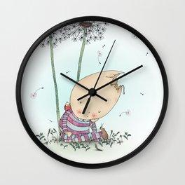 Walls and Falls Wall Clock