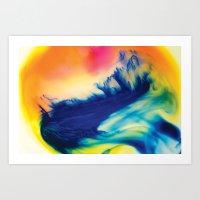 Cerulean Art Print