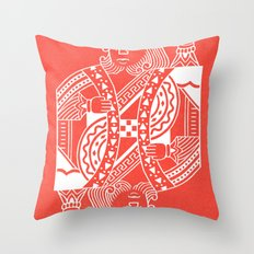 Creativity Is King Throw Pillow