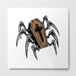 Creeping Death Metal Print