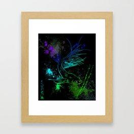 Rebel Betta Framed Art Print