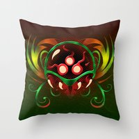 metroid Throw Pillows featuring Metroid by likelikes