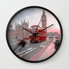 Streets of London Wall Clock