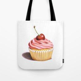 The Perfect Pink Cupcake Tote Bag