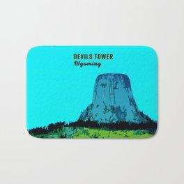 Devils Tower Wyoming Bath Mat
