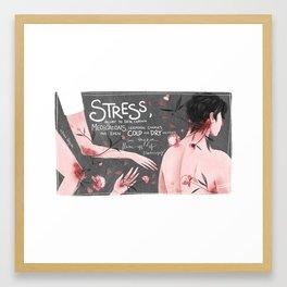 Psoriasis II Framed Art Print
