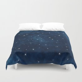 Whispers in the Galaxy Duvet Cover
