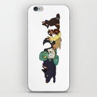 ohana iPhone & iPod Skins featuring Ohana by Made of Tin
