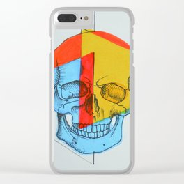 Vida de colores Clear iPhone Case