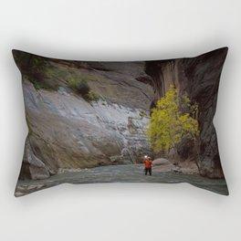 Narrows Photographer Rectangular Pillow