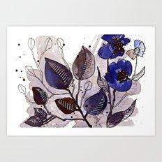 Floral 22 Art Print