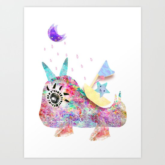 I'll protect for you Art Print