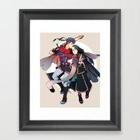 Unwavering Loyalty Framed Art Print