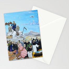 Requiem for an Empress Requiem para una Emperatriz by Juan Manuel Rocha Kinkin Stationery Cards
