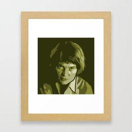 Iris Murdoch Framed Art Print